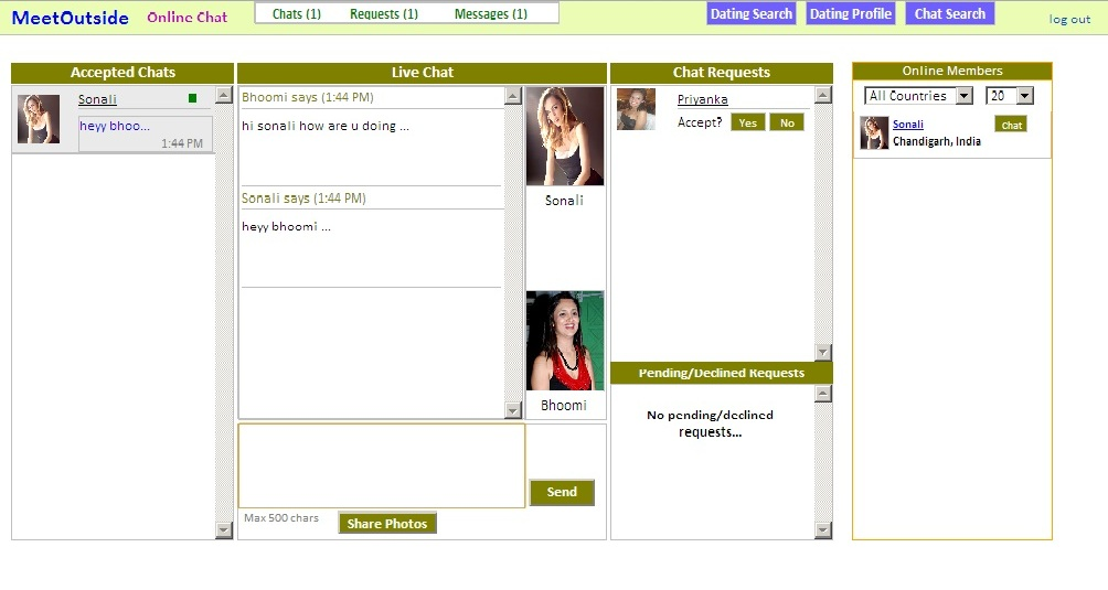 lesbian dating chat rooms